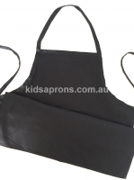 Kids Apron 100% Cotton Black