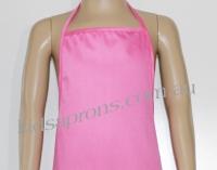 Kids Apron pink Cotton/Polyester
